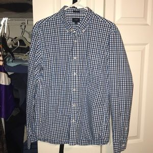 J Crew Men's Casual Button Down Size L